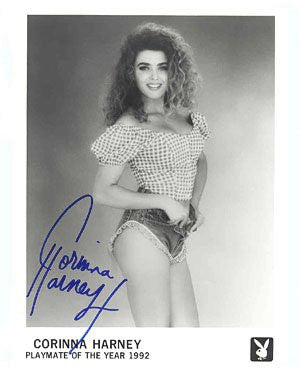 Corinna Harney Playmate of the Year 1992 Autographed Photo
