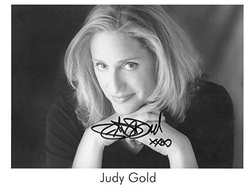 Judy Gold Autographed Photo