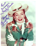 Gail Davis Annie Oakley Autograph Photo