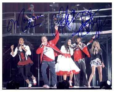 High School Musical Autographed Photo