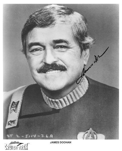James Doohan Star Trek Autographed Photo