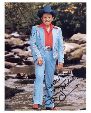 Jimmy Dickens Autographed Photo