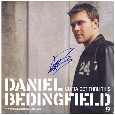Daniel Bedingfiled 12x12 Signed Album Cover