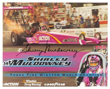Auto Racing Shirley Muldowney Autographed Photo