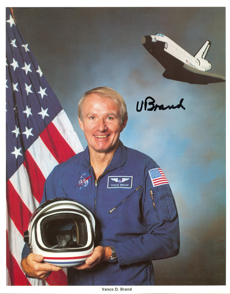 Astronaut: Vance Brand signed 8x10 Autographed Photo UACC Dealer
