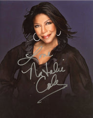 Natalie Cole signed 8x10 Autographed Photo UACC Dealer
