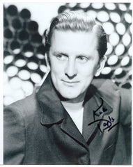 Kirk Douglas signed 8x10 Autographed Photo 2 UACC Dealer