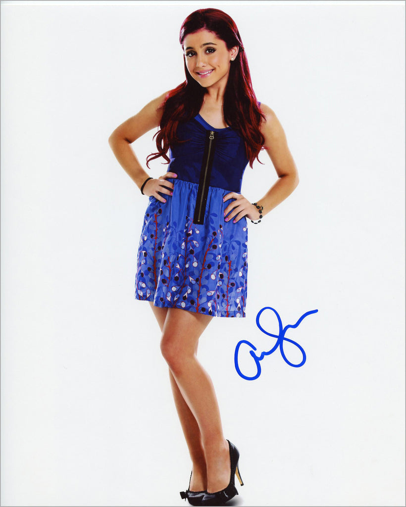 Ariana Grande signed 8x10 Autographed Photo UACC Dealer