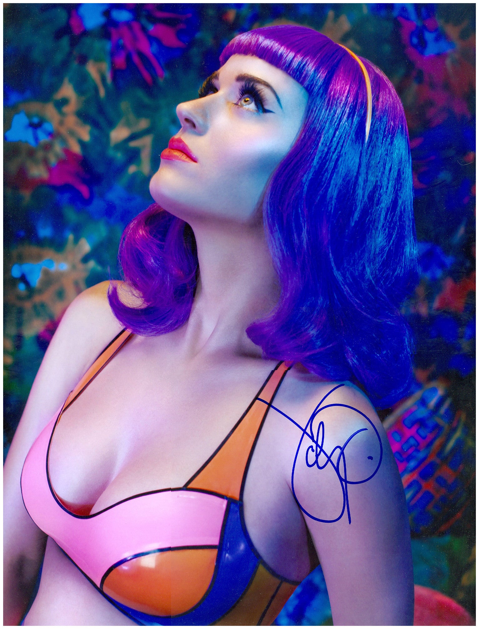 Katy Perry Autographed Photo