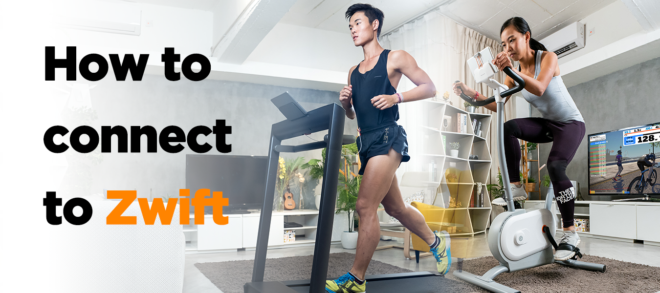 Zwift Connection guide for AirRun Treadmill and NEXGIM Smart Exercise Bike