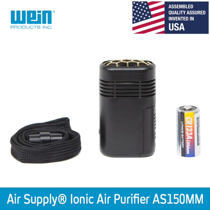 Air Supply® AS150MM Personal Ionic Air Purifier [+ 1 Free CR123A Battery] - WEAREREADY.SG