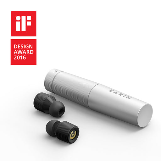 EARIN (SILVER) - The First True Wireless Earbuds!