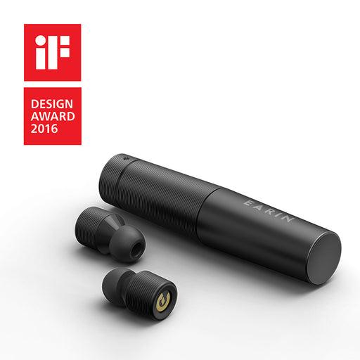 EARIN (BLACK) - The First True Wireless Earbuds!