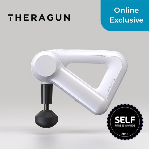 Theragun G3 White - Percussive Therapy Gun - WEAREREADY.SG