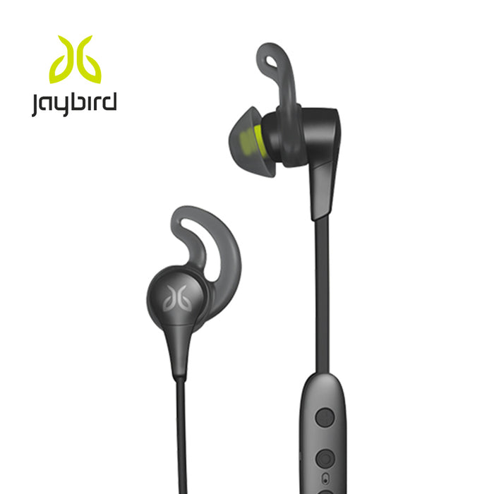 JayBird - X4 Bluetooth earbuds - Black Metallic