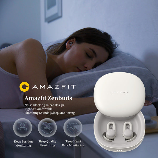 Amazfit ZenBuds: Smart Sleep Earbuds