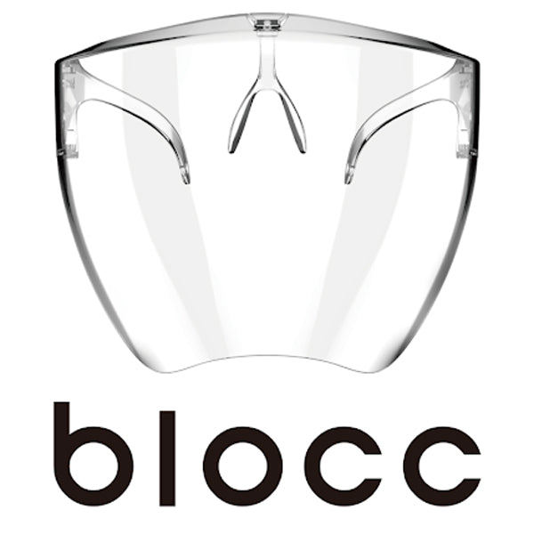 blocc: Face Shield Designed for Style & Protection