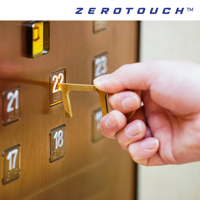 [2 packs] ZeroTouch Z100 Copper Alloy Multipurpose Tool (includes retractable carabiner)