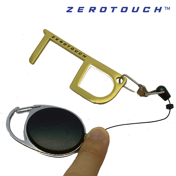 ZeroTouch Z100 Copper Alloy Multipurpose Tool (includes retractable carabiner)