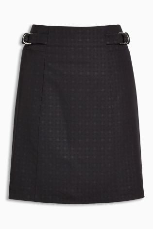Size 10 NEXT Black Mini- Skirt