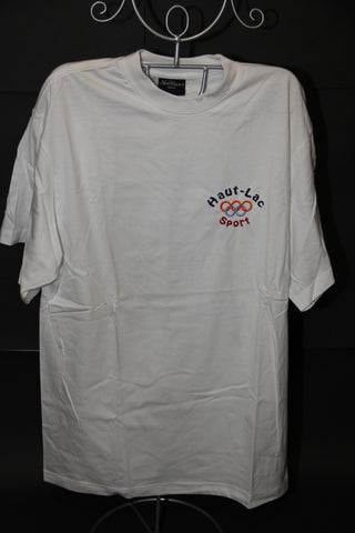 "Size M Secondary Sports T-Shirt Cotton ""S"" brand"