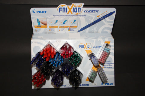 Clicker Frixion pens  Red