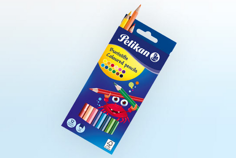 Coloured pencils (pack of 12)