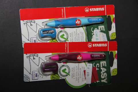 Stabilo Easy start pencil and pencil sharpener