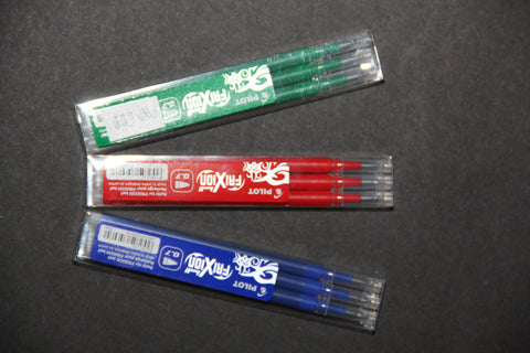 Frixion pens red refill per pkt