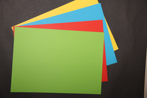Migros colored paper