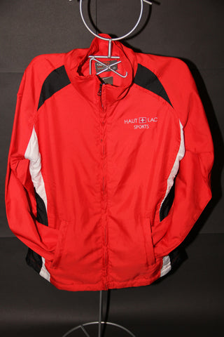 Size L  Boys Jacket Red/Black