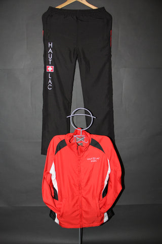 Size S Girls Sports Trousers Red/Black SPG