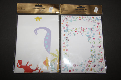 Stationery sets ( in clear plastic) RBS51
