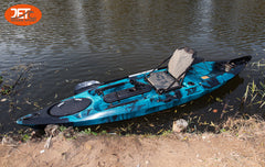 3.6M 12ft Fishing Kayak with Aluminium Seat