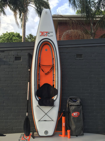 1.8m Kid's Kayak Sit On Top Touring with Paddle and Seat