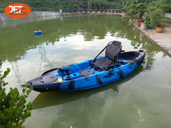 jet Tour 9'(2) 2.78M Single Sit On Top Fishing KAYAK with Aluminium Seat