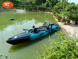 Jet Pedal 13' 3.96M 13ft Single Pedal Kayak with Aluminum Seat