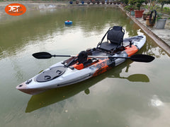 Jet Pedal 12' 3.66M 12ft Single Pedal Kayak with Aluminum Seat