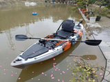 Jet Fish 10'(1) 3.1M 10ft Single Sit-On Fishing Kayak with Aluminium Seat