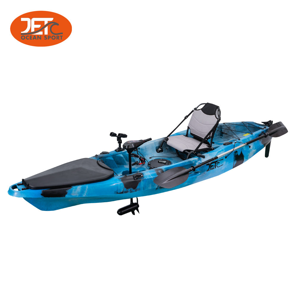 JET GENTOO Motor 10' 3.2m Single Motor Kayak