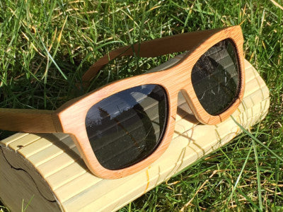 Handmade Wooden Sunglasses, bamboo with Polarized lenses - PersonaliseWise - Personalised Photo Gifts - 1