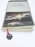 CAT SILVER CORD BOOKMARK