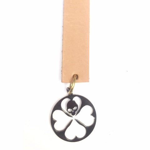 STRAY LUCK SILVER DARK BOOKMARK