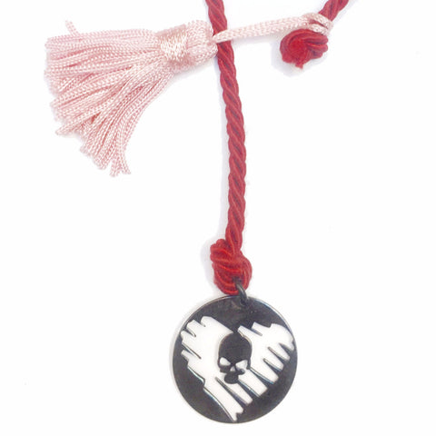 STRAY HEART SILVER KEYCHAIN