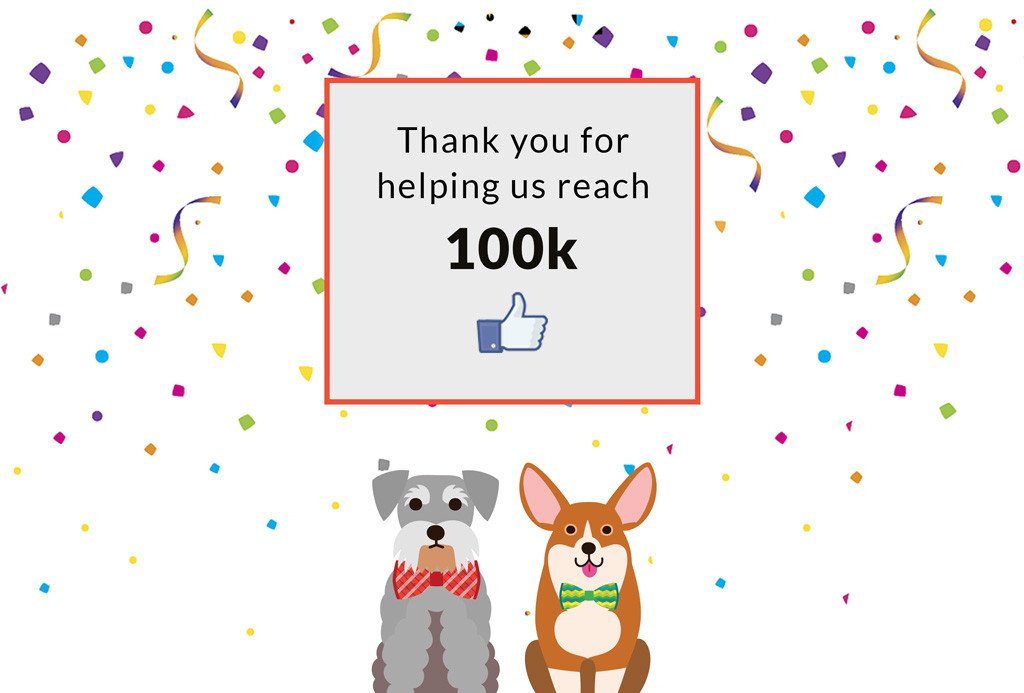 Be our 100,000th Facebook Like and WIN a £50 Voucher!