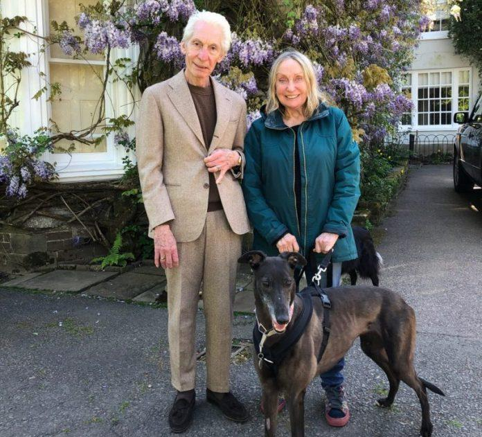 Lucky greyhound finds home with Rolling Stones drummer Charlie Watts