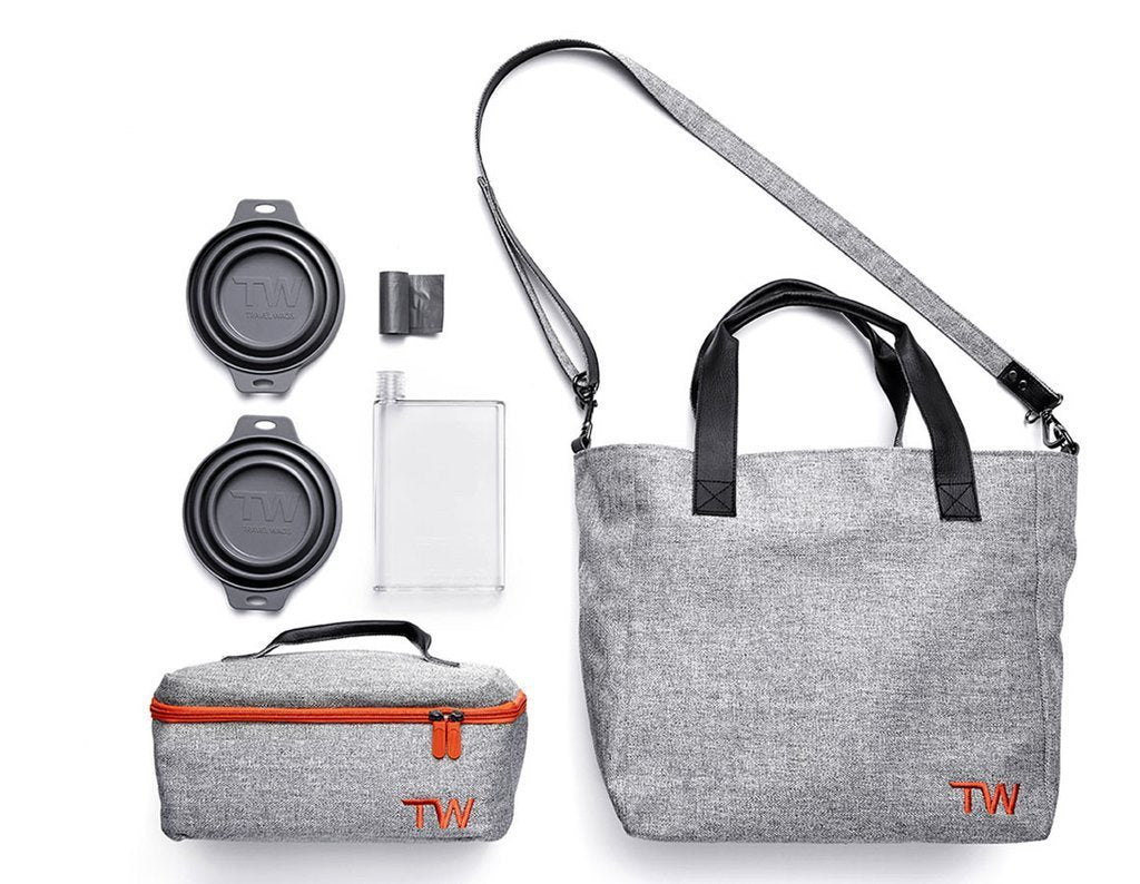 Travel Wags Tote Bag Set