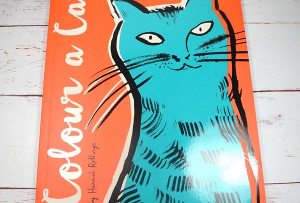 #WINITWEDNESDAY - WIN a copy of 'Colour a Cat' by Hannah Rollings - 05/01/2015