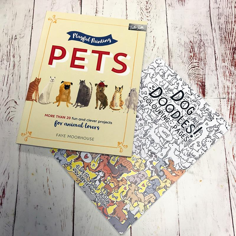 #WINITWEDNESDAY - Win two artistic doggie books this Wednesday!