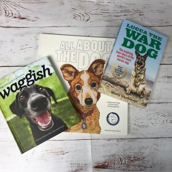 #WINITWEDNESDAY - win three great doggie titles this Wednesday